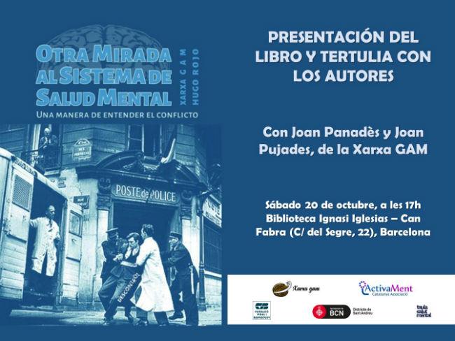 cartell presentació llibre otra mirada salud mental xarxa gam