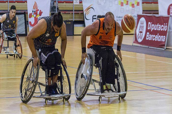 lliga catalana bàsquet cadira rodes partits clau campions
