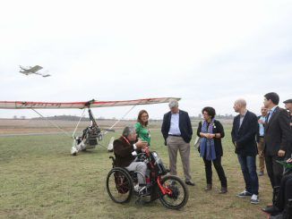 jornada aviació adaptada cel persones discapacitat