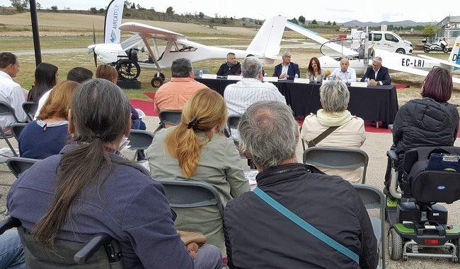 presentació jornada aviació adaptada odena igualada