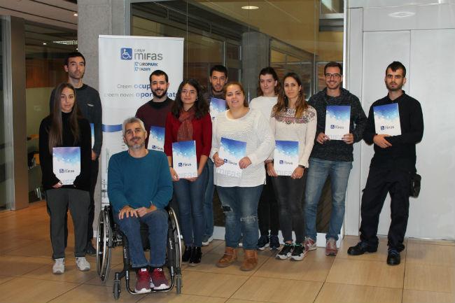 programa garantia juvenil 10 joves treball grup mifas