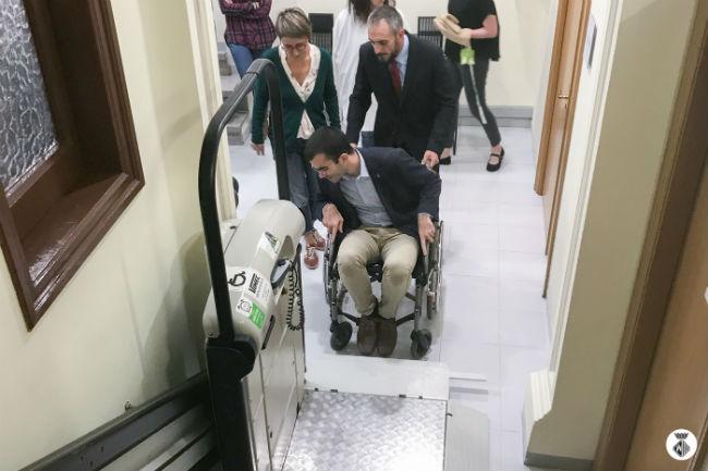 tècnics formació dificultats persones cadira de rodes