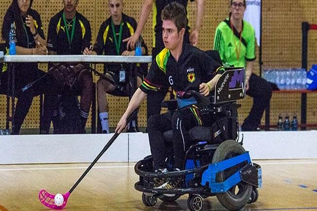 adb debuta victòria nova lliga hoquei cadira rodes elèctrica