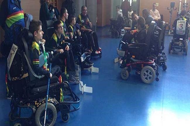 jugadors catalans convocats selecció catalana hoquei cadira rodes