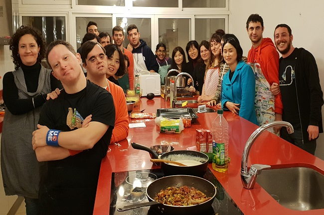 delegació sud-coreana taller cuina ludalia