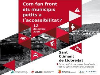 jornada sant climent llobregat accessibilitat municipis petits