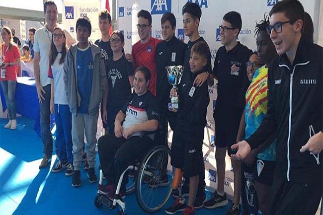 nedadors fcedf campionat espanya axa promeses paralímpiques