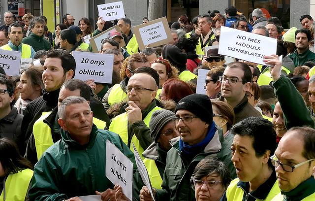 manifestació cets patronals complements salarials salari mínim