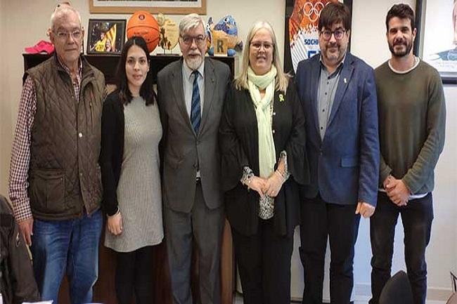 Reunió de treball de la FCEDF amb la Diputació de Barcelona per tractar sobre la promoció de l'esport adaptat