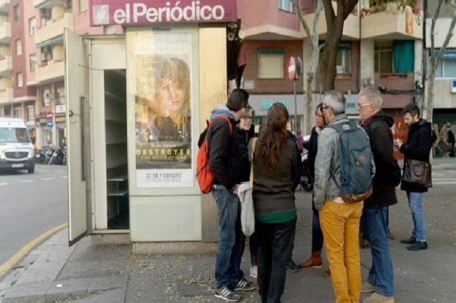 cooperativa persones discapacitat quioscos sense activitat barcelona