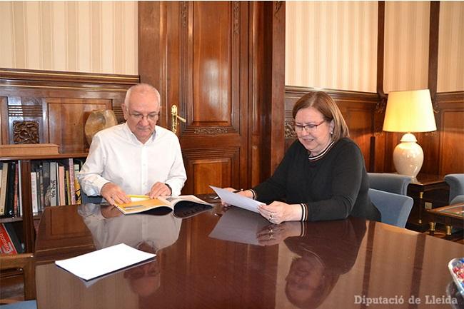 La Diputació de Lleida duplica la inversió en entitats que donen suport a les persones amb discapacitat