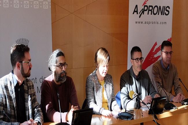 malgrat presentació programa activitats 50 aniversari fundació aspronis