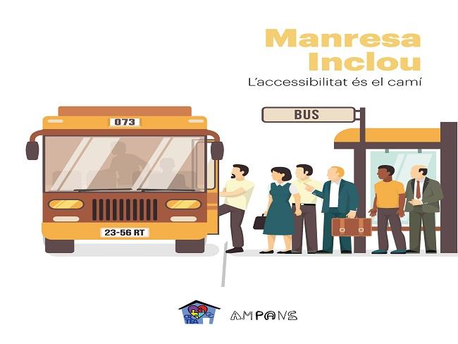 Entra a la fase final del Pressupost Participatiu el projecte Manresa Inclou per l'accessibilitat al transport públic