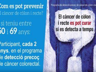 programa cribratge càncer còlon i recte catalunya