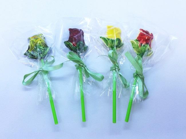 roses de xocolata de Sant Tomàs