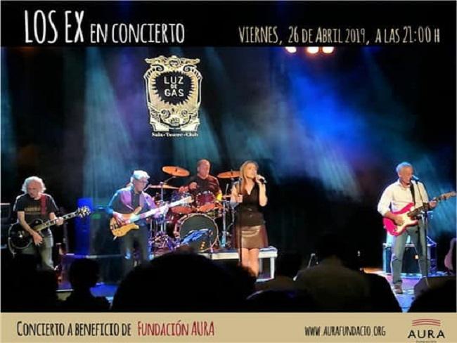 """La Sala Luz de Gas de Barcelona acollirà el concert solidari """"Los Ex"""" a favor de la Fundació Aura"""