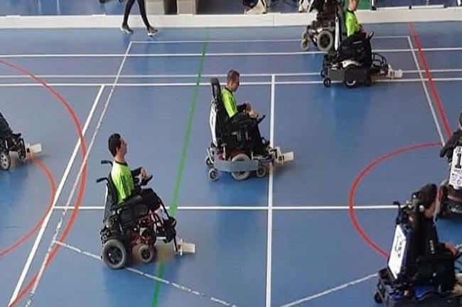 dissabte lliga catalana hoquei cadira rodes electrica