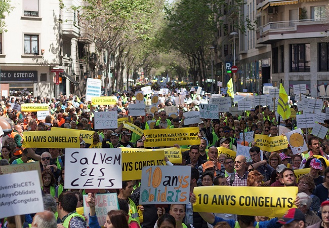 manifestació cets complements viabilitat econòmica