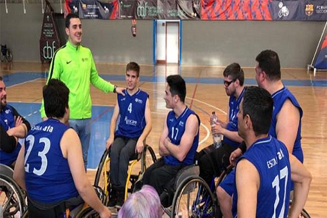 unes afa victòria lliga catalana bàsquet cadira rodes  nivell 2