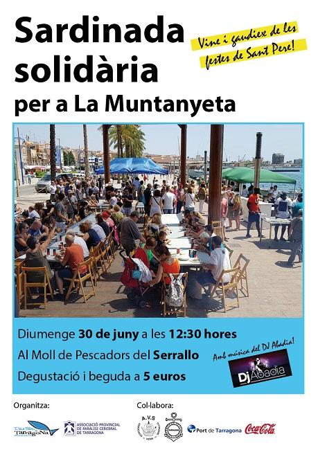 El barri marítim El Serrallo de Tarragona acull una sardinada solidària a benefici de La Muntanyeta