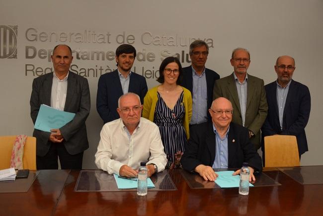 Col·laboració en l'àmbit de la Salut Mental i la Discapacitat Intel·lectual a les regions sanitàries Lleida i Alt Pirineu i Aran