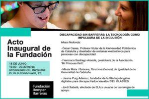 presentació-fundacion-romper-barreras-tecnologia-vida-personas-discapacitat