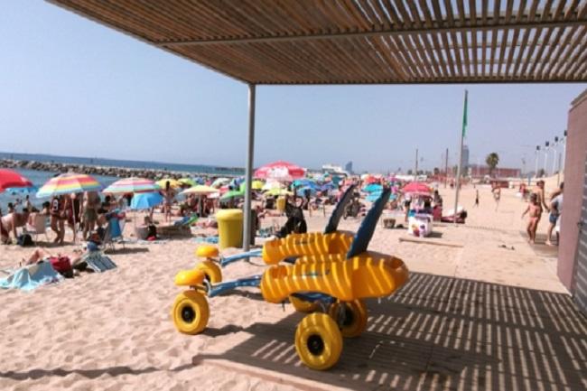 platges accessibles Catalunya