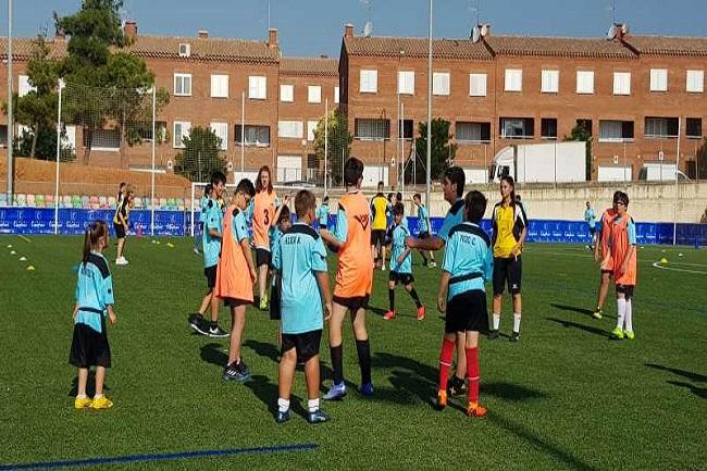 Sabadell acull el I Campus Campions de futbol 7 a Catalunya per a persones amb diversitat funcional