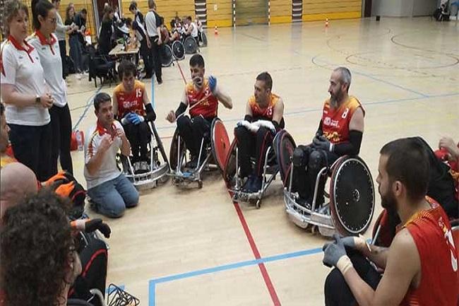 Tot preparat per a la disputa de la 2a edició del Trofeu Internacional de Quad rugbi de Barcelona