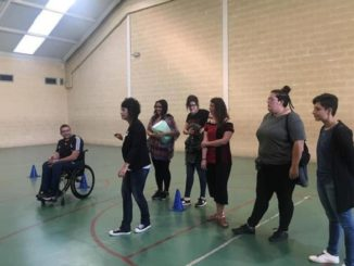 gimcana-paeria-alumnes-primària-sensibilització-discapacitat