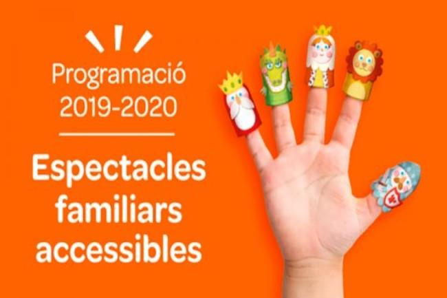 L'Ajuntament de Barcelona presentarà la programació d'espectacles familiars accessibles per al curs 2019-2020