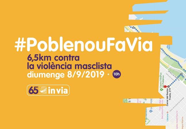 invia-caminada-solidària-poblenoufavia-violència-masclista