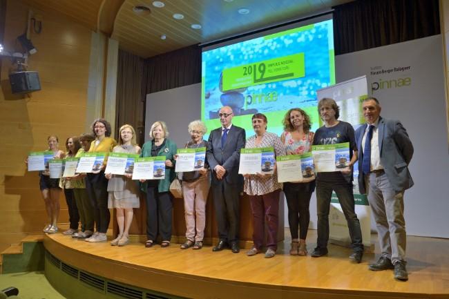 La Fundació Pinnae lliura els Ajuts d'Impuls Social a 10 projectes d'entitats de la Vegueria Penedès