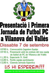 presentació-primera-jornada-futbol-paràlisi-cerebral-vilanova-vallès