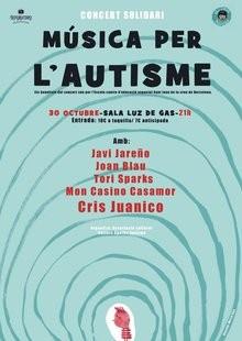 La Sala Luz de Gas de Barcelona acollirà el concert-festival solidari 'Música per l'autisme'