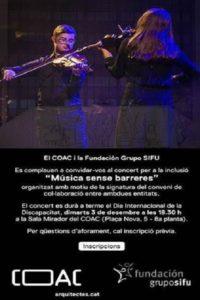 concert inclusio musica sense barreres grupo sifu coac
