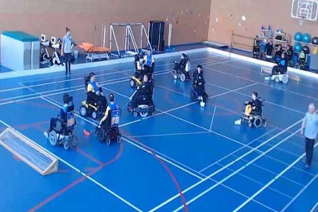 derbi dracs cea senior lliga catalana hoquei cadira rodes electrica