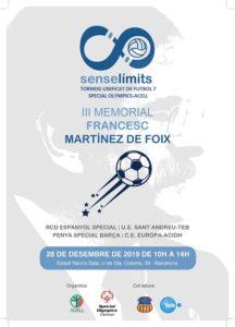 estadi sant andreu memorial francesc martinez foix futbol sala unificat