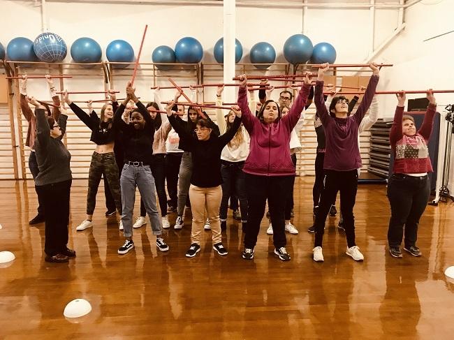 grup alba ball inclusiu festival solidari scapem amb la musica escola vedruna