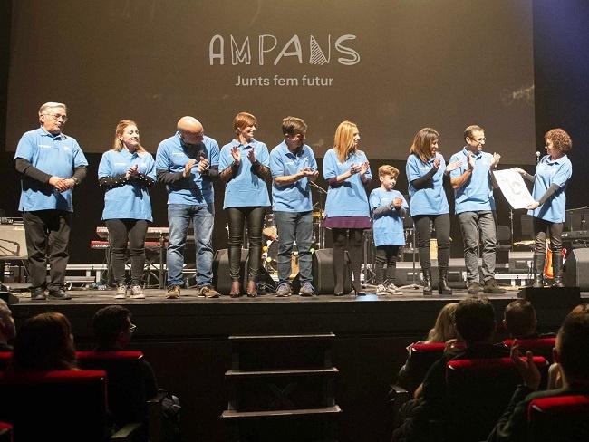 Reconeixement d'AMPANS al voluntariat de CaixaBank per estar al costat de les persones amb discapacitat