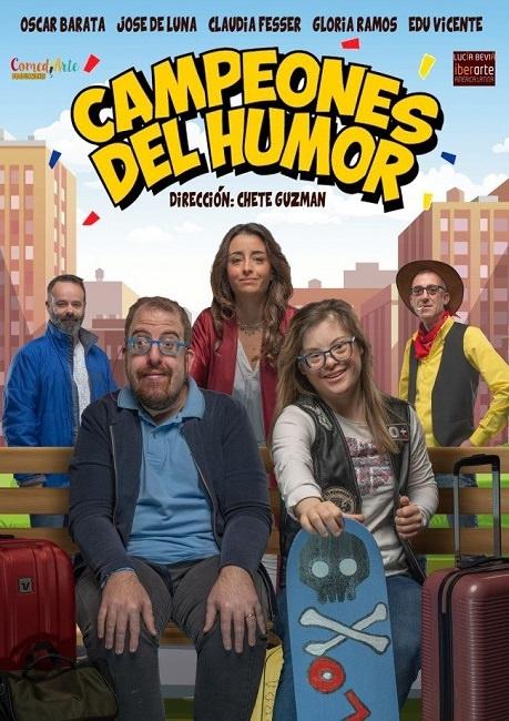 L'obra 'Campeones del Humor', sobre persones amb discapacitat, inicia una gira per tot el país al febrer
