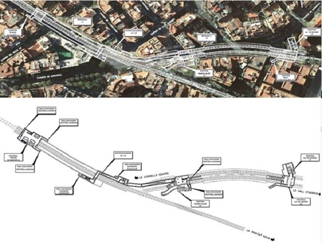 La Generalitat millorarà l'accessibilitat de l'estació de Maragall a l'avinguda dels Quinze