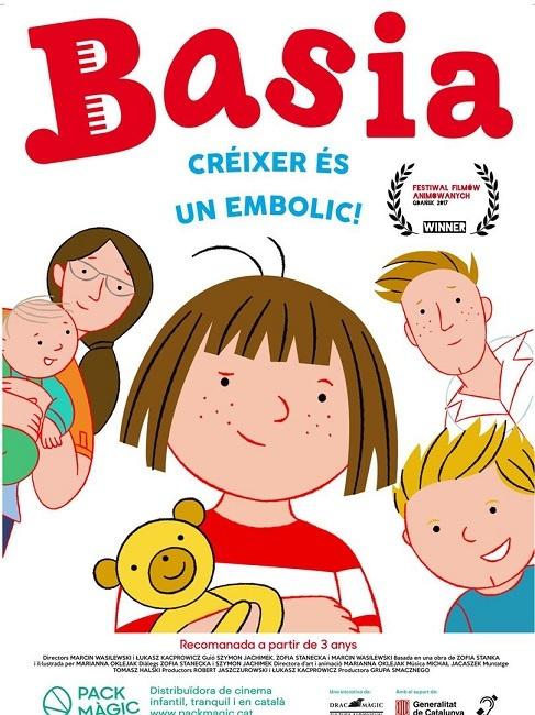 El film infantil 'Basia' i el clàssic 'Rebeca' amb versions subtitulades al Cinema Catalunya de Terrassa