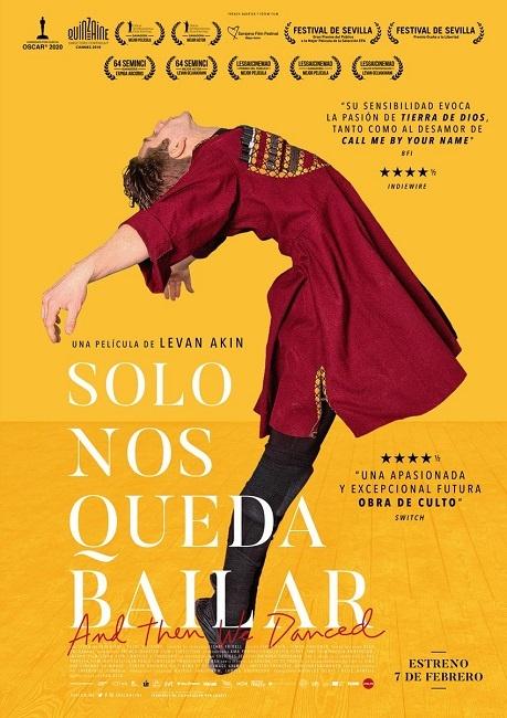 El film 'Sólo nos queda bailar' serà accessible amb l'aplicació AudescMobile al Cinema Catalunya de Terrassa