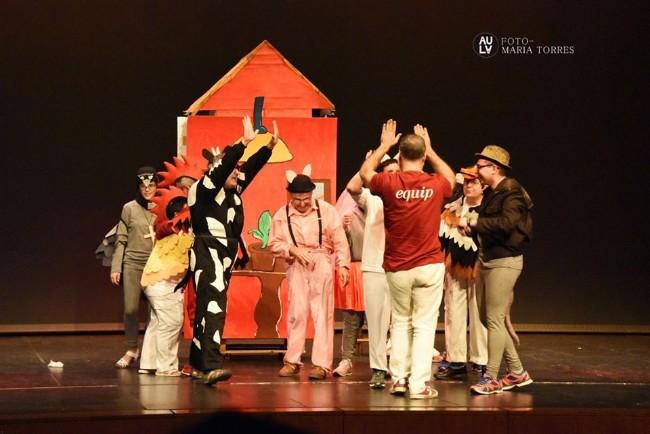 Ilersis porta l'obra 'La rateta que escombrava l'escaleta' al Teatre Municipal de l'Escorxador de Lleida