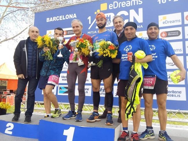 Mitja Marató Barcelona esportistes discapacitat intel·lectual