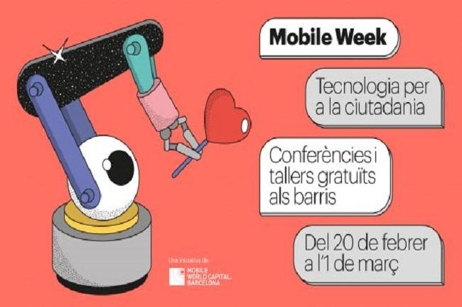 La 4a edició de la Mobile Week Barcelona s'estrena amb una conferència sobre tecnologia i discapacitat