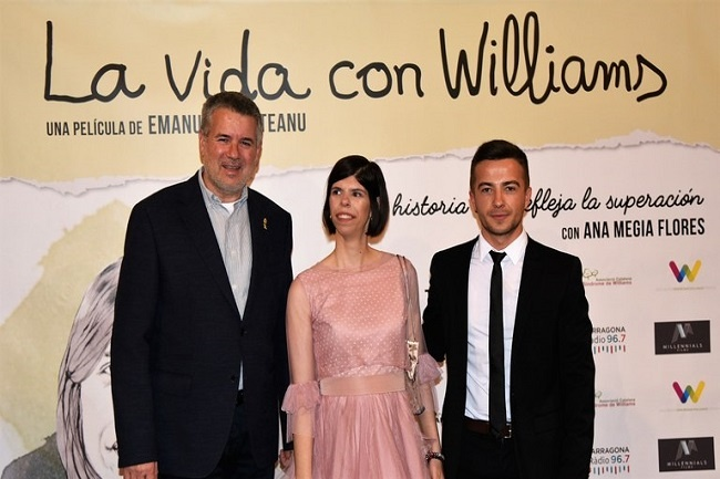 El documental 'La vida con Williams', una història que reflexa la superació, es presenta al Teatre Tarragona