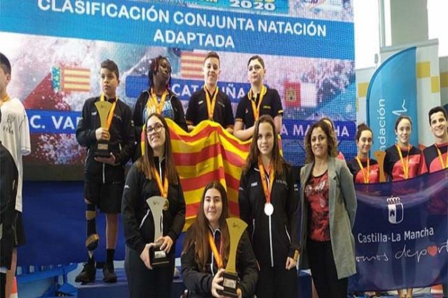 Catalunya guanya el Campionat d'Espanya per Seleccions Autonòmiques de natació en edat escolar