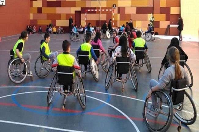'L'esport adaptat a les escoles', un projecte de la FCEDF per conscienciar i sensibilitzar envers l'esport adaptat